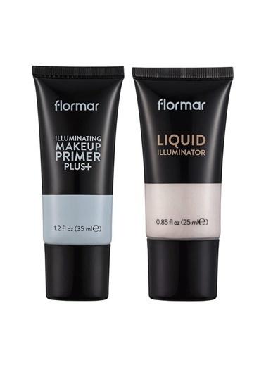 New Well Flormar Aydınlatıcı Makyaj Baz 35 Ml+ Liquid Illuminator Makyaj Baz 25 Ml Renkli